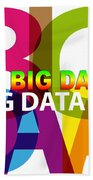 Creative Title - Big Data Bath Towel