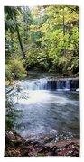 Creek, Frozen In Time Bath Towel