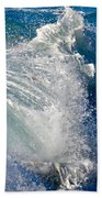 Cresting Wave Bath Towel