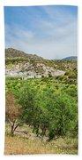 Crete Olive Grove Bath Towel