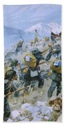 Crimean War And The Battle Of Chernaya Bath Towel