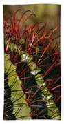 Crimson Thorns 2 Bath Towel