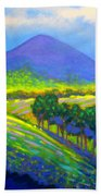 Croagh Patrick County Mayo Bath Towel