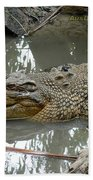 Crocodile Bath Towel