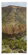 Crooked River Gorge Bath Towel