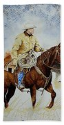 Cropped Ranch Rider Bath Towel