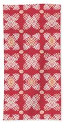 Cross Cross Diamonds Spice- Art By Linda Woods Hand Towel by Linda Woods