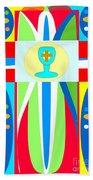 Cross Of Colors Bath Towel