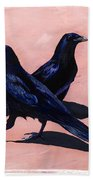 Crows Bath Towel
