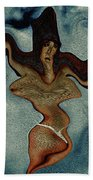 Crucified Woman Surreal I Bath Towel