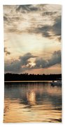 Cruising, Eagle Lake, Almaguin Highlands, Ontario Bath Towel