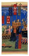 Crusades 14th Century Bath Towel