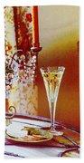 Crystal And Champagne Bath Towel
