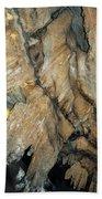 Crystal Cave Wall Formations Bath Towel