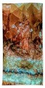 Crystal Formations Bath Towel