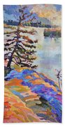Crystal Light Over The Lake Bath Towel