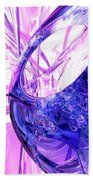 Crystallized Abstract Bath Towel