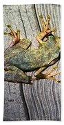 Cudjoe Key Frog Bath Towel