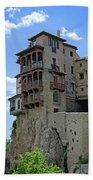 Cuenca Spain Casas Colgadas Bath Towel