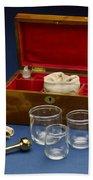 Cupping Set, London, England, C. 1865 Bath Towel