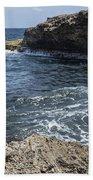 Curacao - Coast At Shete Boka National Park Bath Towel