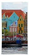Curacao Willemstad Panorama Bath Towel