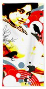 Curious Crow Bath Towel
