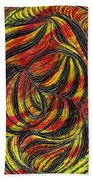 Curved Lines 2 Bath Towel