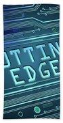 Cutting Edge Concept. Bath Towel