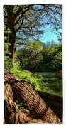 Cypress Bend Park In New Braunfels Bath Towel