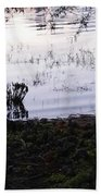Cypress Trees And Water2 Bath Towel