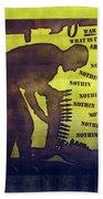 D U Rounds Project, Print 11 Bath Towel