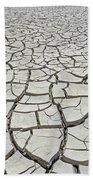 D17845-dried Mud Patterns  Bath Towel