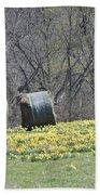 Daffodil Bales Bath Towel