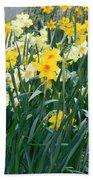 Daffodil Garden Bath Towel