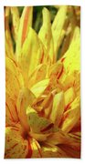 Dahlia Flower Art Collection Giclee Prints Baslee Troutman Bath Towel