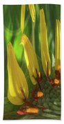 Daisy Abstract 032317-6357-4cr Bath Towel