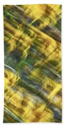 Daisy Abstract Bath Towel