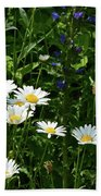 Daisy Patch  Bath Towel