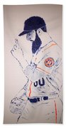 Dallas Keuchel Give Thanks Bath Towel