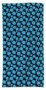 Dalmatian Pattern With A Black Background 18-p0173 Bath Towel