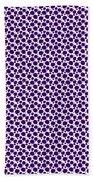 Dalmatian Pattern With A White Background 30-p0173 Bath Towel