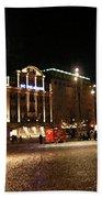 Dam Square Late Night - Amsterdam Bath Towel