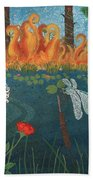 Dance Of The Dragonfly. / The Best Is Yet To Come. Bath Towel