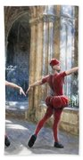 Dance Of The Swiss Guard Bath Towel