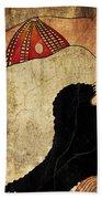 dancer of Ancient Egypt Bath Towel
