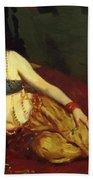 Dancer Of Delhi Betalo Rubino 1916 Bath Towel