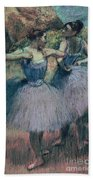 Dancers In Violet  Hand Towel
