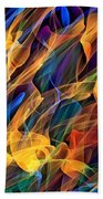 Dancing Flames Bath Towel