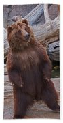 Dancing Grizzly Bath Towel